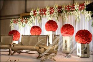 Flower decor in pakistani weddings