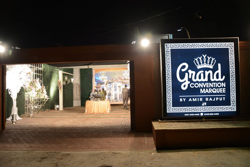Wedding venue in karachi
