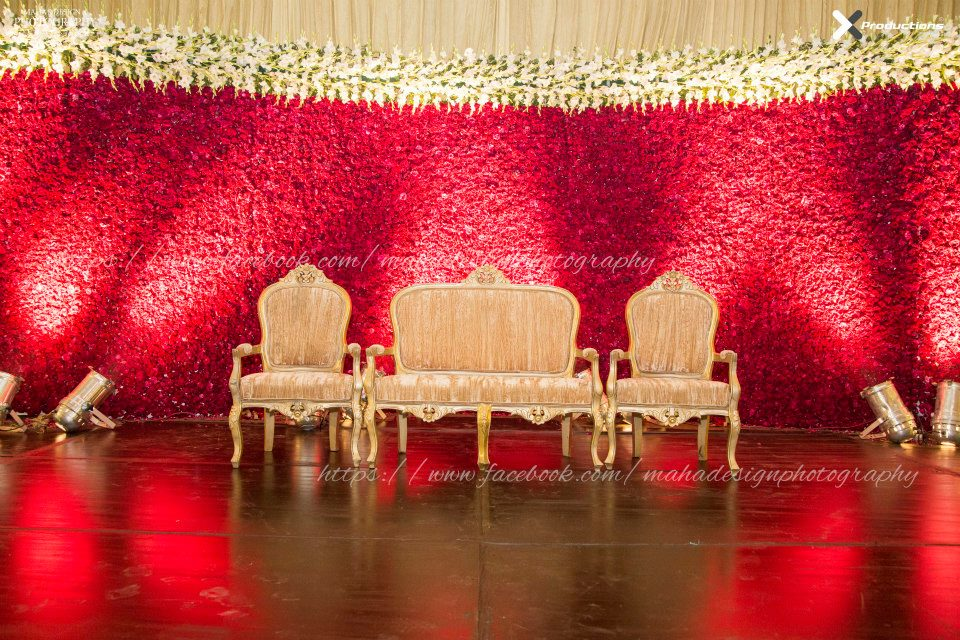 pakistani wedding flower decore