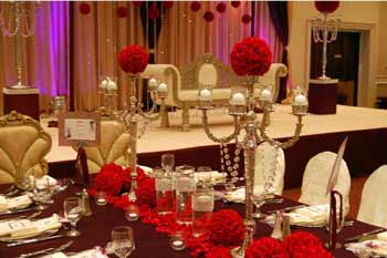 5 top themes for pakistani wedding and mehndi decor wedding pakistani 1 rose theme reds junglespirit Choice Image
