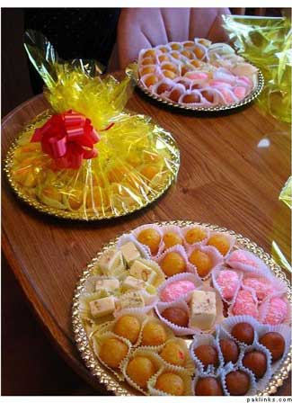 Mithai Decoration Ideas