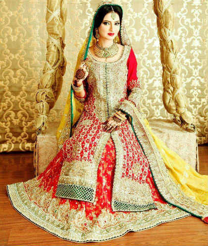 The Four Types Of Quintessential Pakistani Wedding Dresses
