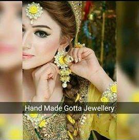 Hand Made Gota Jewellary